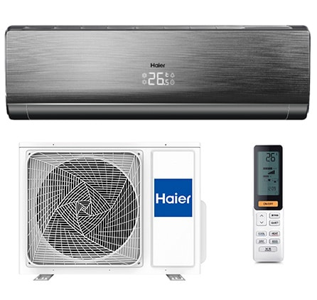 Инверторный кондиционер Haier Lightera Super Match DC Inverter AS24NS3ERA-B/1U24GS1ERA