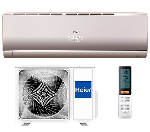 Инверторный кондиционер Haier Lightera Super Match DC Inverter AS24NS3ERA-G/1U24GS1ERA